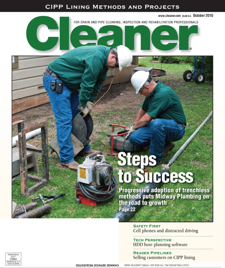Midway Plumbing was last featured in the magazine in 2010.