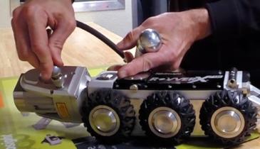 Camera Crawlers Perform Under Pressure