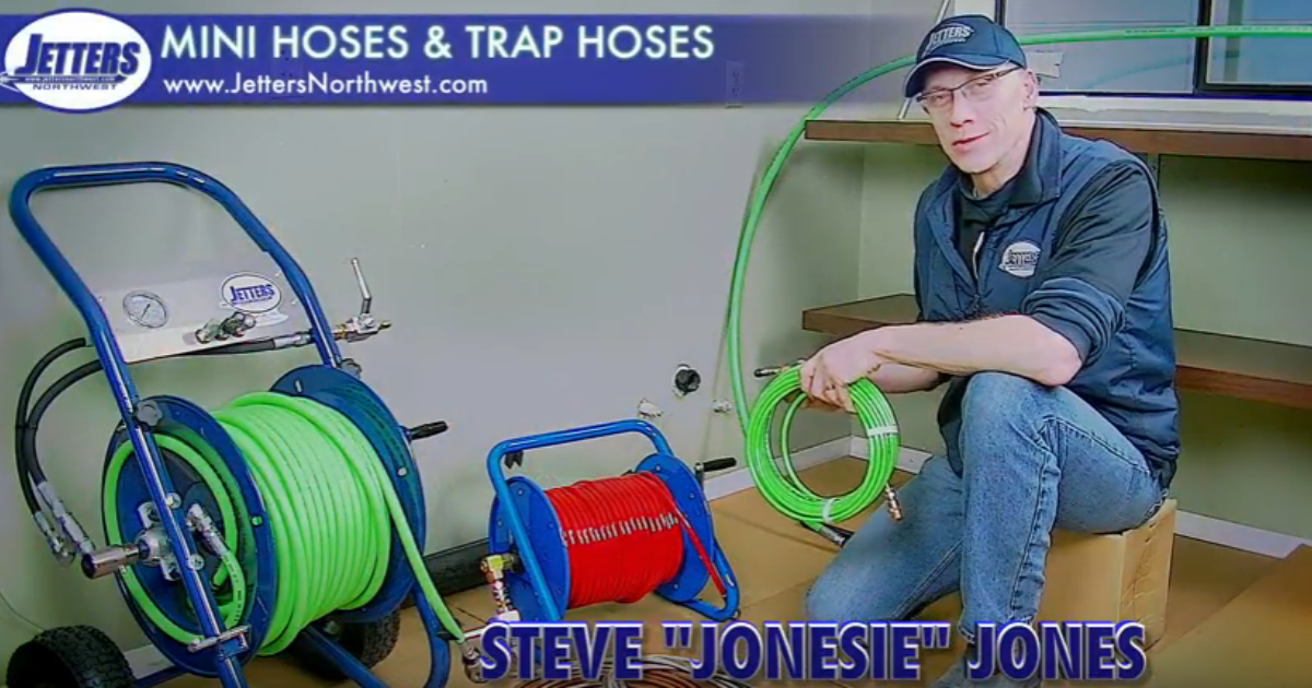 Jetting With Jonesie: Jetting Hose Sizing | Cleaner