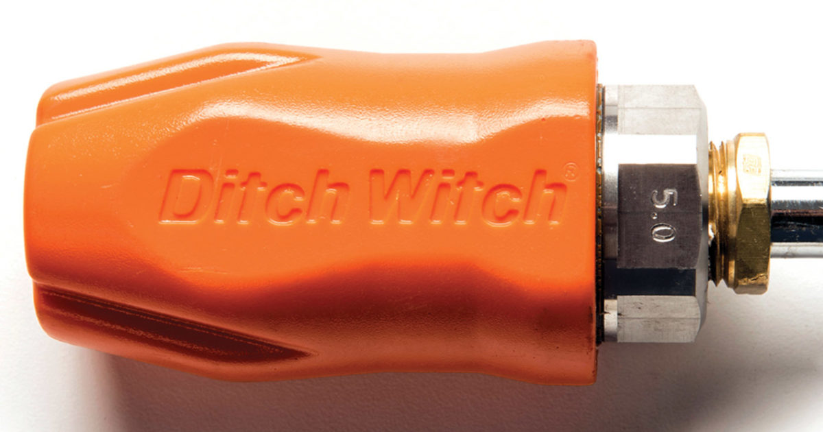 Hydroexcavation - Ditch Witch Prospector Nozzle | Cleaner on