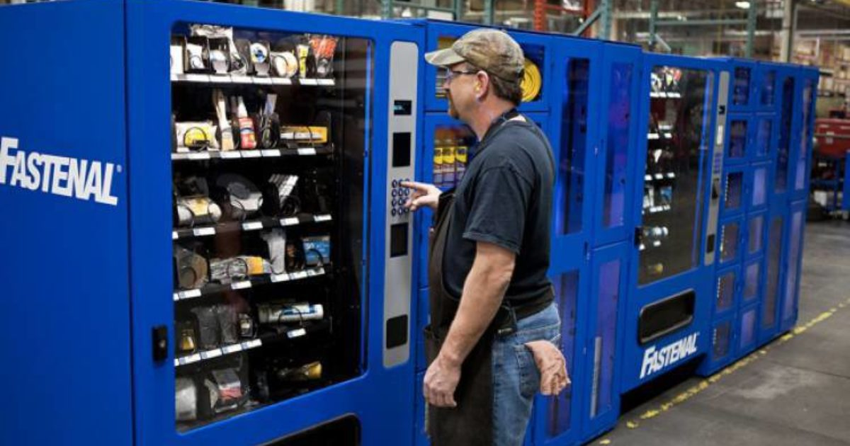 Vending Machines Keep Technicians Safe And Supplied Cleaner
