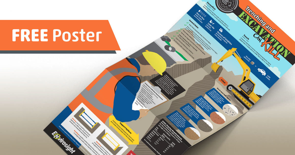Get A Free Trenching And Excavation Safety Poster Cleaner